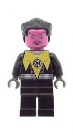 Sinestro (Black Suit) - Custom Designed Minifigure